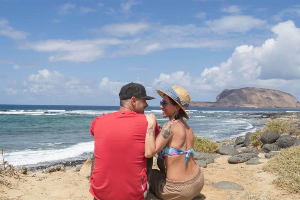 Todo Mundo e Bom escursione all isola de la Graciosa Lanzarote, Canarie, Spagna