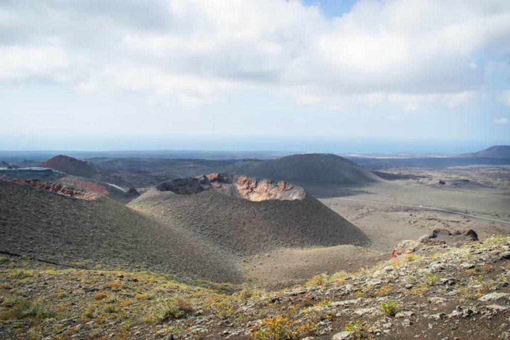 Todo Mundo e Bom Visitare il parco nazionale Timanfaya a Lanzarote, Canarie, Spagna
